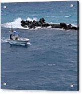 The Fishing Boat Acrylic Print