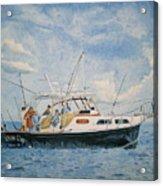 The Fishing Charter - Cape Cod Bay Acrylic Print