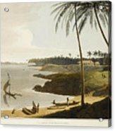 The Fishing Cove Near Columbo Acrylic Print