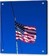 The Flag Of Usa  Acrylic Print