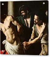 The Flagellation Of Christ Acrylic Print by Caravaggio