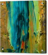 The Flair Of The Flame Abstract Acrylic Print