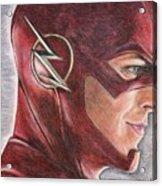 The Flash / Grant Gustin Acrylic Print
