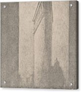 The Flat Iron New York Acrylic Print