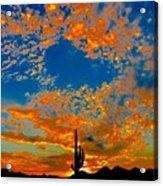 The Flavor Of The Sky Acrylic Print
