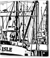 The Fleet Is In Acrylic Print