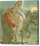The Flight Into Egypt Acrylic Print by John Lawson