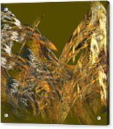 The Flight Of The Bird Acrylic Print