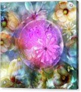 The Floating Garden Acrylic Print