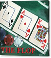 The Flop Acrylic Print