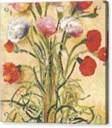 The floral dance Acrylic Print