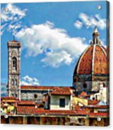 The Florence Cathedral Acrylic Print
