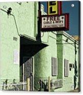 The Flores Motel Acrylic Print
