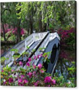 The Flower Bridge Acrylic Print
