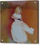 The Flower Girl  Copyrighted Acrylic Print
