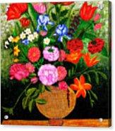 The Flower Pot Acrylic Print