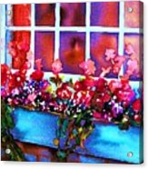 The Flowerbox Acrylic Print