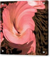 The Flowers Are Dancing Acrylic Print