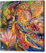 The Flowers Of Sea Acrylic Print