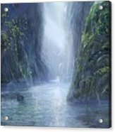 The Flowing Of Time Acrylic Print