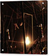 The Flying Trapeze 1980s Circus Acrylic Print