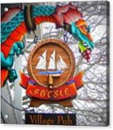 The Fo'c'sle Village Pub Acrylic Print