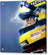 The Focus Of Ayrton Acrylic Print