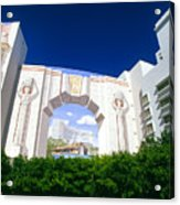 The Fontainebleau Hotel Acrylic Print
