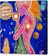 The Fool Goddess  Acrylic Print