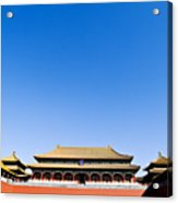The Forbidden City Acrylic Print
