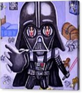 The Force Is Strong With This One Acrylic Print