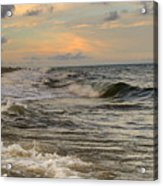 The Force Of The Sea Acrylic Print