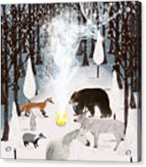 The Forest Guardians Acrylic Print