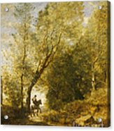 The Forest Of Coubron Acrylic Print