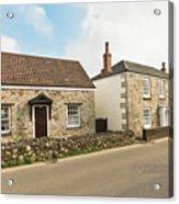 The Forge And Blacksmith's Cottage Mylor Bridge Acrylic Print