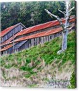 The Forgotten Barn Acrylic Print