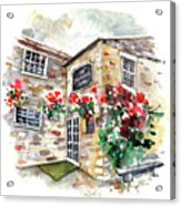 The Forresters Arms In Kilburn Acrylic Print
