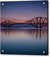 The Forth Bridge Before Sunrise Acrylic Print