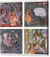 The Four Acrylic Print