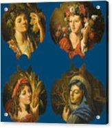 The Four Seasons Acrylic Print