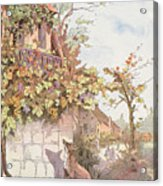 The Fox And The Grapes Acrylic Print