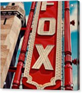 The Fox Theater Acrylic Print