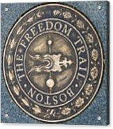 The Freedom Trail Acrylic Print
