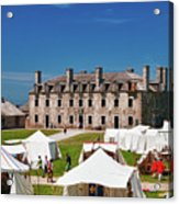 The French Castle 6709 Acrylic Print