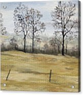 The French Countryside Acrylic Print