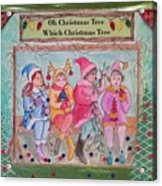 The Friends - Oh Christmas Tree Acrylic Print