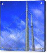 The Frienship Bridge Acrylic Print