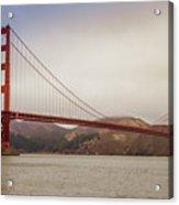 The Frisco Bridge Acrylic Print