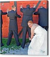 The Frisky Bride Acrylic Print
