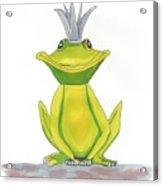The Frog King Acrylic Print